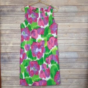 Alyx sleeveless bright multicolored dress. 16
